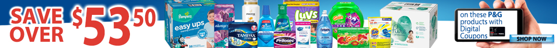 P&G Digital Coupons