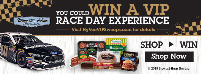 You could win a VIP race day experience