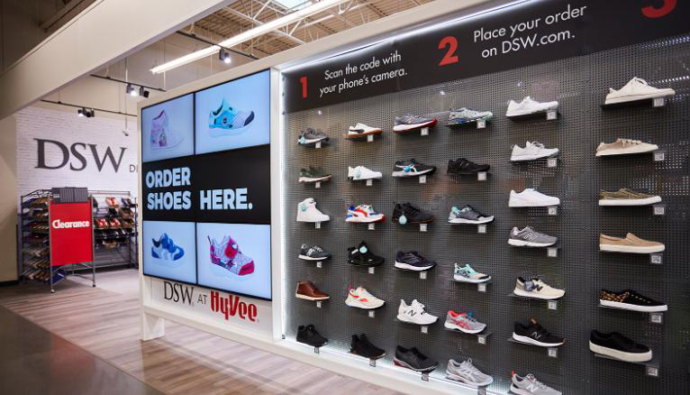 DSW Now At Hy-Vee