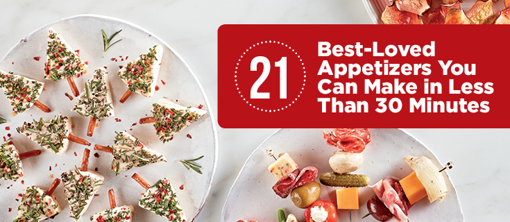 21 Best-Loved Appetizers