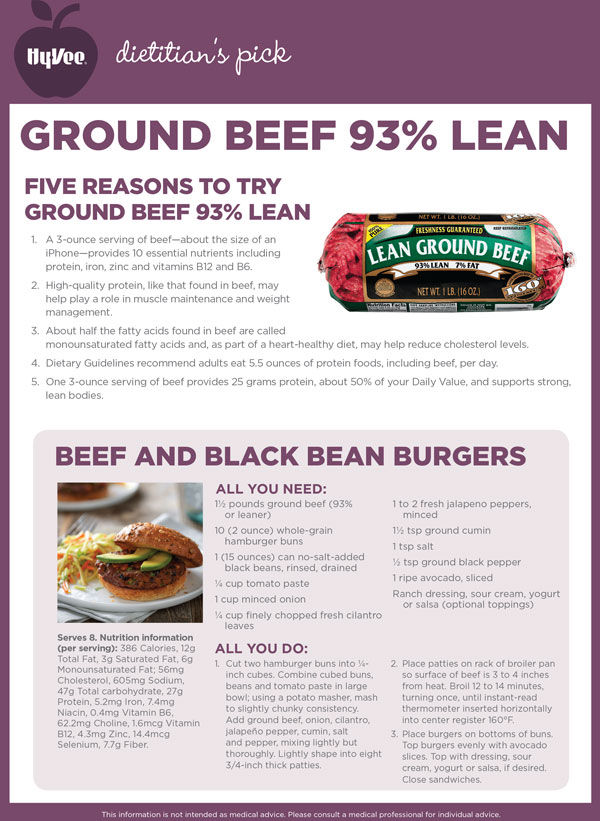 June POM - Ground Beef